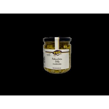 Habitas fritas en Aceite